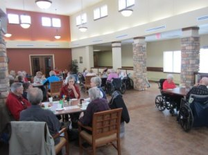 lunch time in Home Care for Senior Citizens