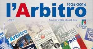 La copertina commemorativa de L'Arbitro.