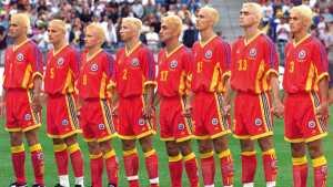 I Calciatori della nazionale rumena a USA 94.