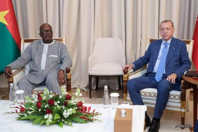 Burkina Faso-Turquie :  Les présidents Kaboré et Erdogan discutent de commerce