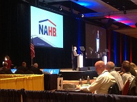 NAHB Board Chairman Rick Judson lead the meeting in Colorado Springs, CO.