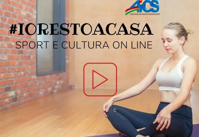 #IORESTOACASA – AICS BIELLA C'È!