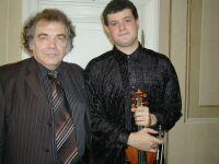 Prof. Zakhar Bron i jego uczeń Aleksander Sorokov