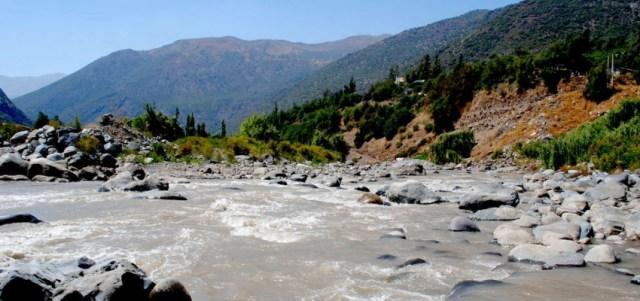 Der Río Maipo ist für die Wasserversorgung der chilenischen Hauptstadt wichtig