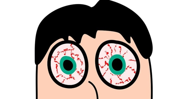 Ilustrasi Mata Merah sebagai Ciri Ciri Flu Babi dan Gejala Terkena Virus Tersebut yang Harus Diwaspadai