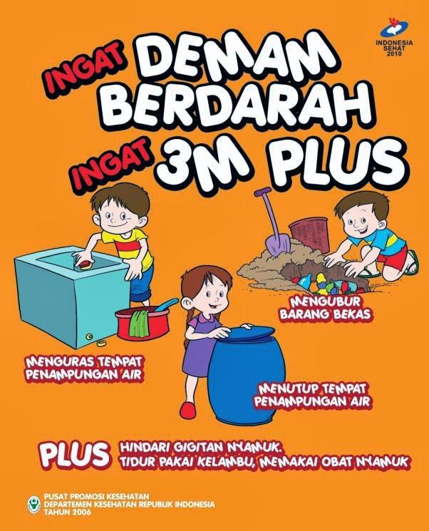Poster Demam Berdarah 3M