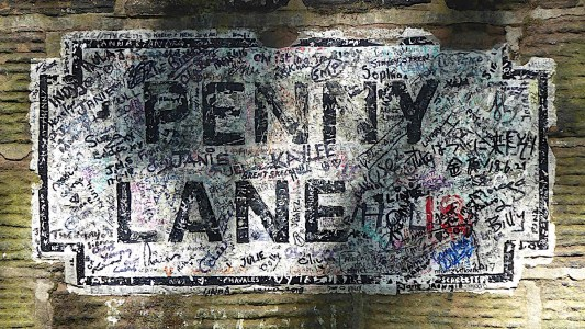 06d Penny Lane painted sign