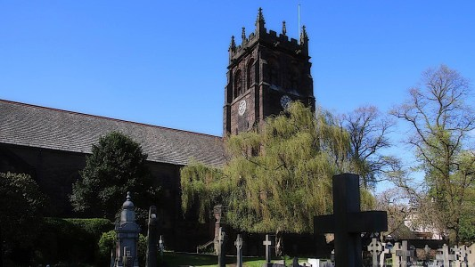 St Peters Church, Woolton, Liverpool