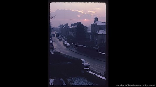 Warwick Terrace, Dublin, 1981 - Kodachrome