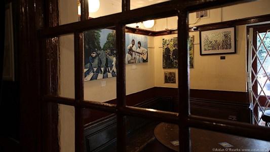 Ye Old Cracke pub interior, Liverpool