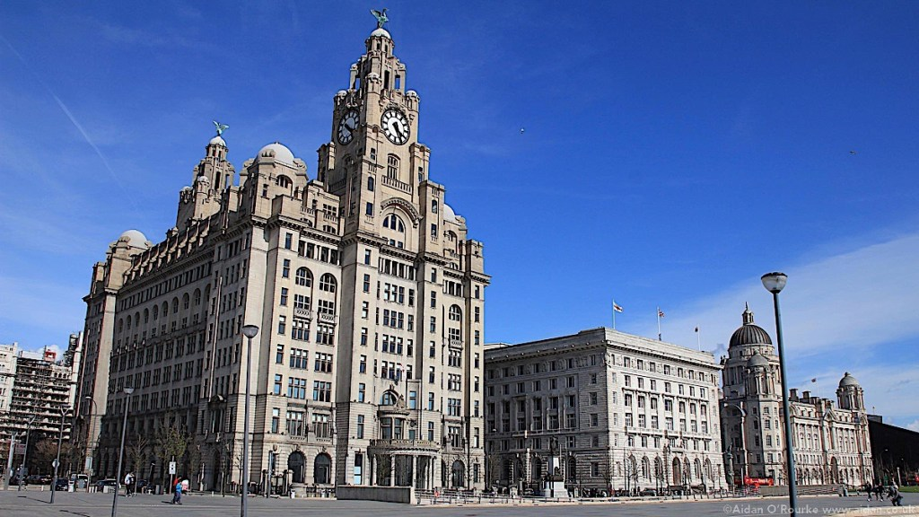 The Pier Head and Three Graces, Liverpool