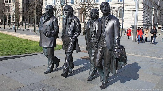 The Beatles Statues