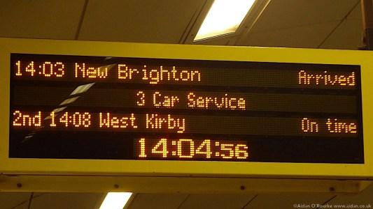 New Brighton station sign Lime Street