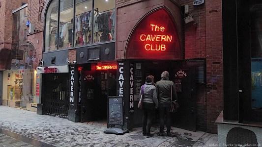 The Cavern Club, Mathew Street, Liverpool