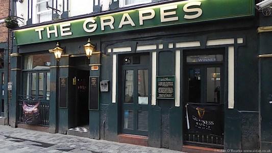 The Grapes Pub, Mathew Street