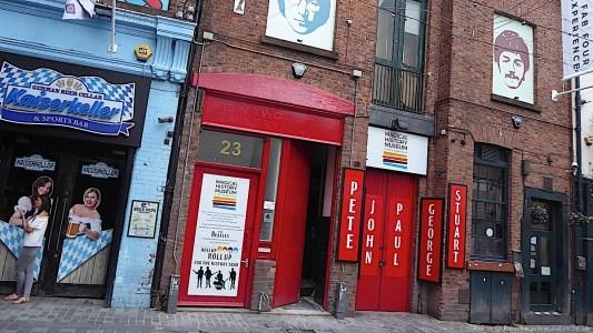 Magical History Museum, Mathew Street, Liverpool