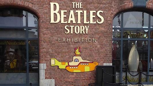 The Beatles Story exhibition, the Albert Dock, Liverpool