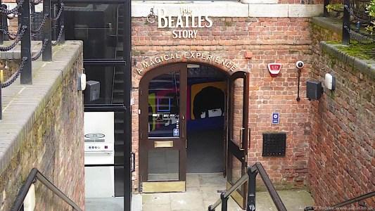 The Beatles Story, Albert Dock entrance