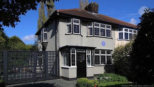 John Lennon childhood home Mendips 252 Menlove Avenue