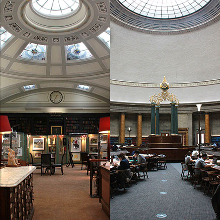 Libraries in Manchester