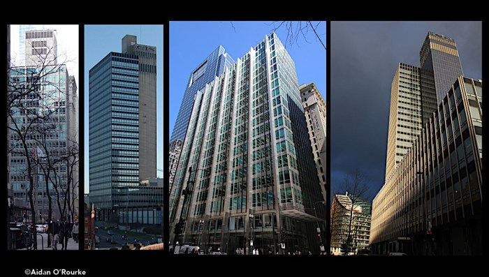 Chicago Inland Steel Building and Manchester CIS Tower