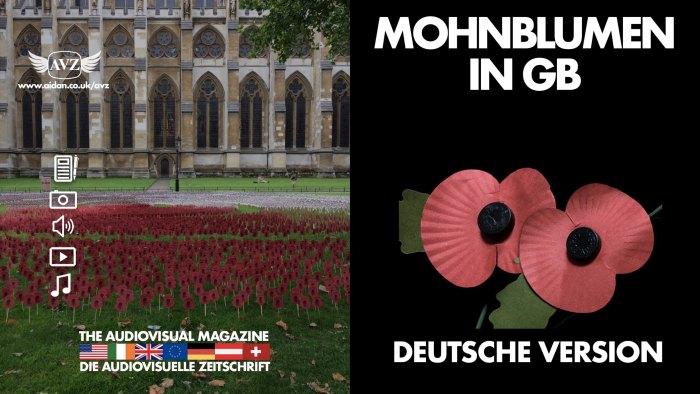Mohnblumen in GB - Deutsche Version