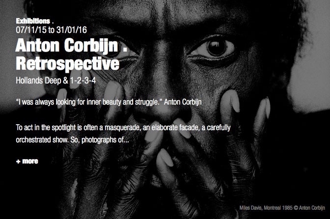 Anton Corbijn exhibition Berlin