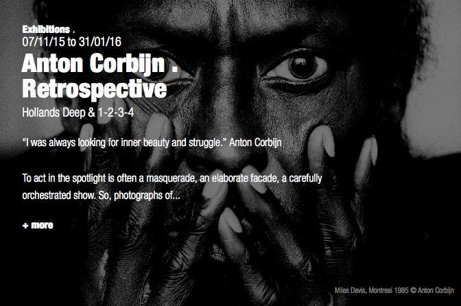 Anton Corbijn exhibition Berlin