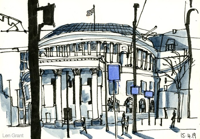 Central Library Manchester by Len Grant