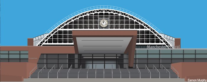 Manchester Central by Eamonn Murphy