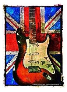 Shaun Keefe Guitart Union Jack