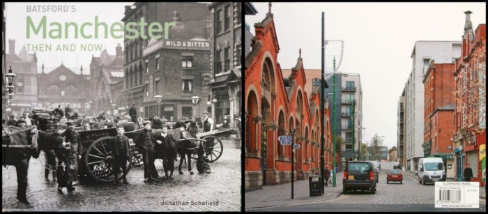 Manchester Then and Now book cover