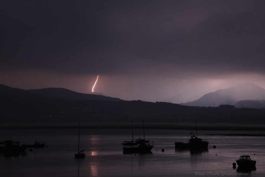 LIghtning over Snowdonia - 2