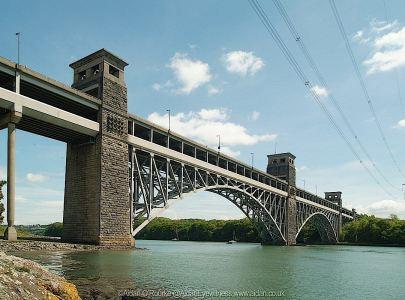 Britannia Bridge North Wales