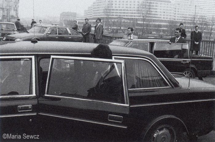DDR East Berlin Cars M Sewcz 1984