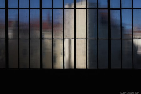 Berlin S-Bahn Schöneberg window