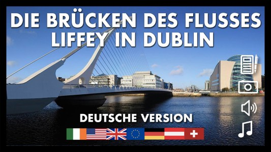 Die Brucken des Flusses Liffey in Dublin