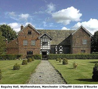 Baguley Hall Manchester 1999 image from Eyewitness in Manchester