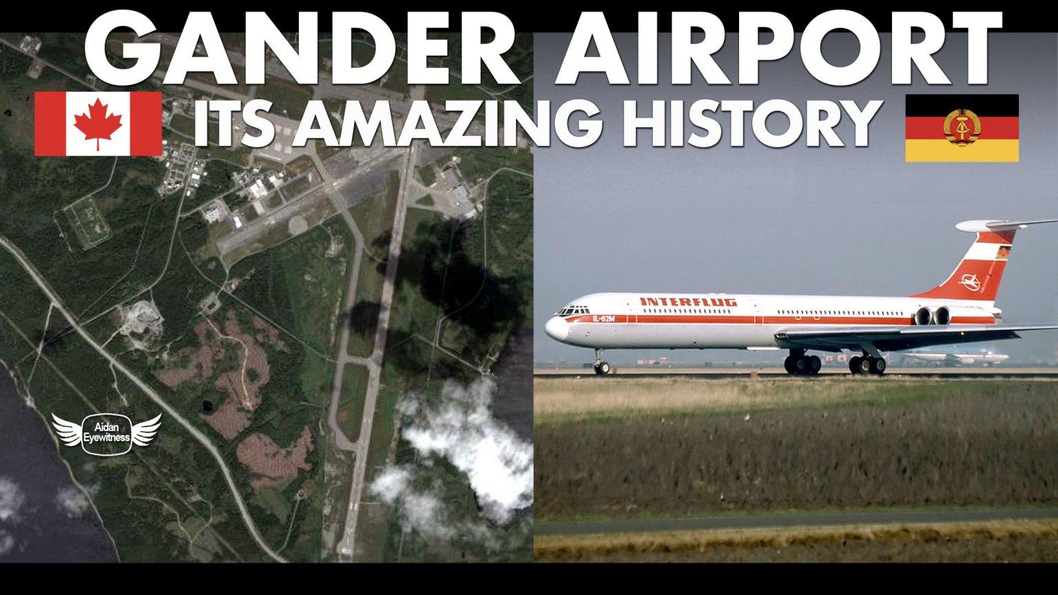 Gander Airport its amazing history
