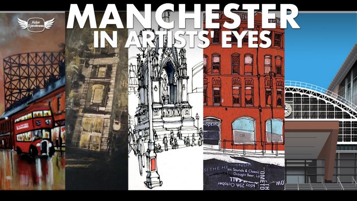 Manchester in Artists' Eyes