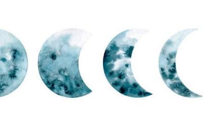 El recorrido de la Luna en las casas