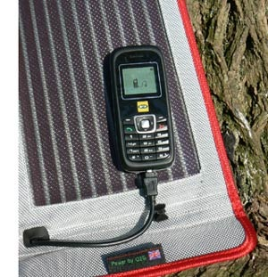 G24i Solar cell phone charger