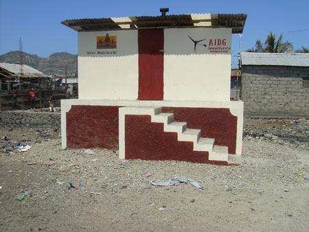 Shada urine-diverting dry toilet