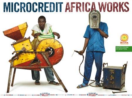 Micro Credit - Africa Works - Miller & Welder
