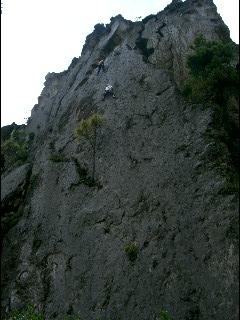Benny Climbing