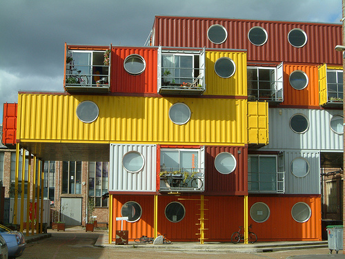 Container City, Trinity Buoy Wharf, London