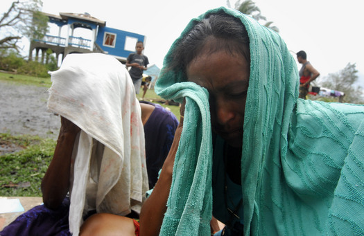People await news of missing fisherman