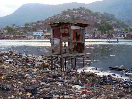 Latrine in the Shada area of Cap Haitien