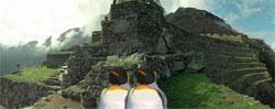 Sean and Marcus in Machu Picchu