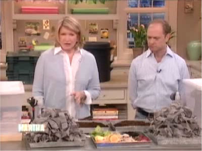 Vermicomposting with Martha Stewart